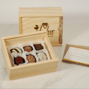Six Truffle Gift Box