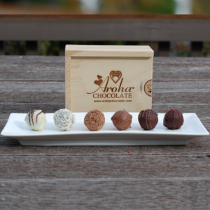 Six Chocolate Truffle gift box