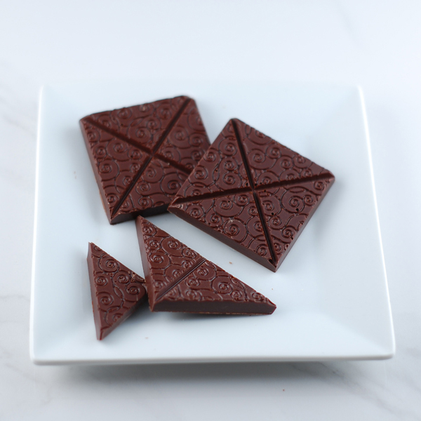 Dark Chocolate Square
