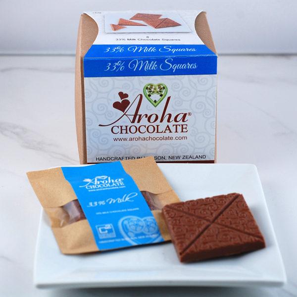 Squares Box 33% Milk