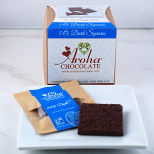 54% Dark Chocolate Squares Box