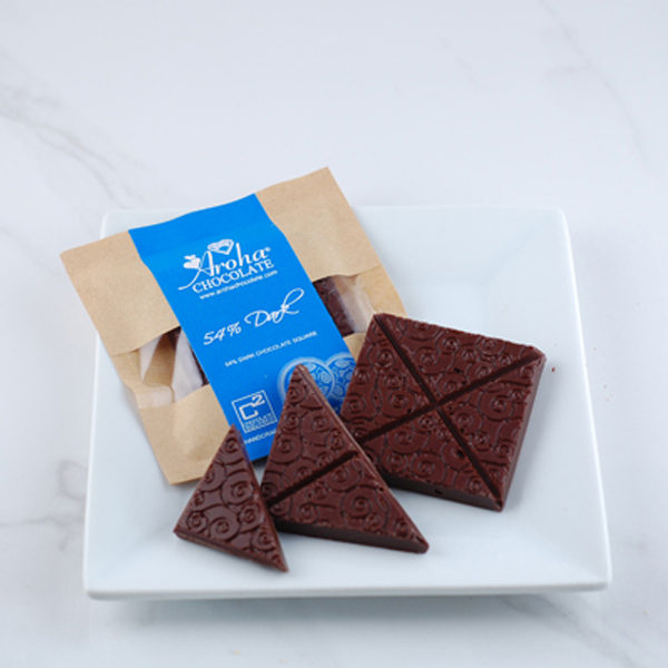 54% Dark Chocolate Square