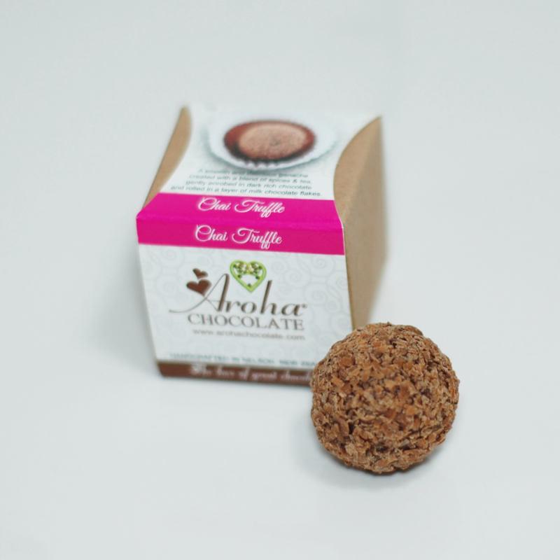 Aroha Chocolate - Chai Truffle