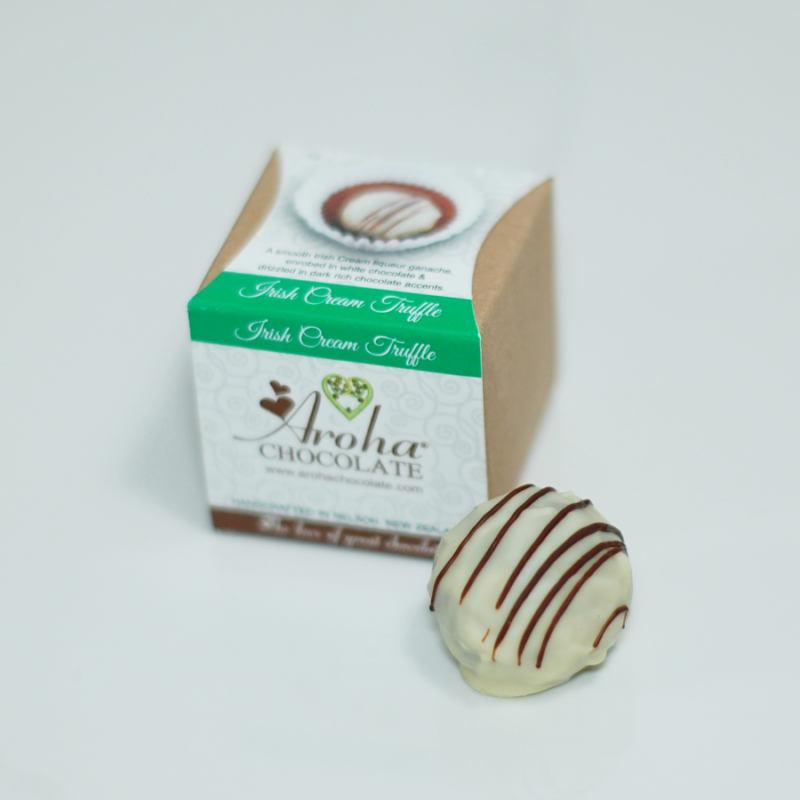 Aroha Chocolate - Irish Cream Truffle