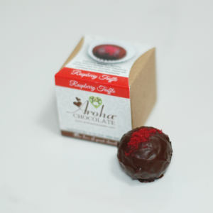 Aroha Chocolate - Raspberry Truffle
