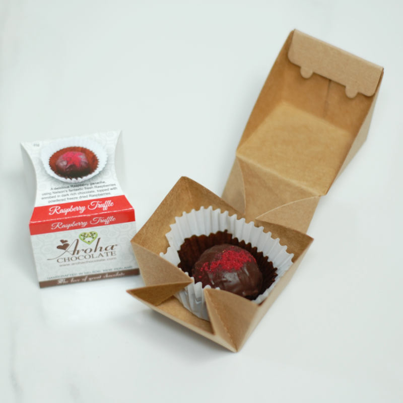 Aroha Chocolate - Raspberry Truffle