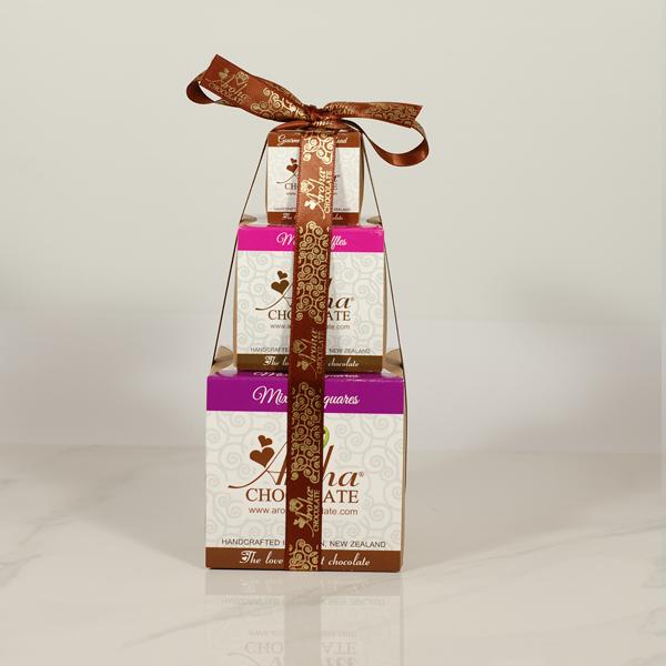 Aroha Chocolate - Aroha Triple Gift Stack