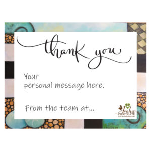 personal gift message card