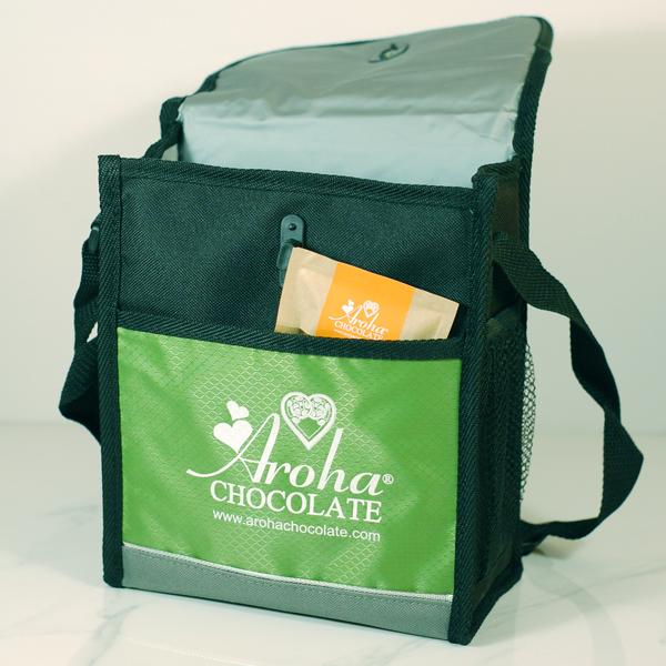 Aroha Chocolate Cooler Bag Pocket