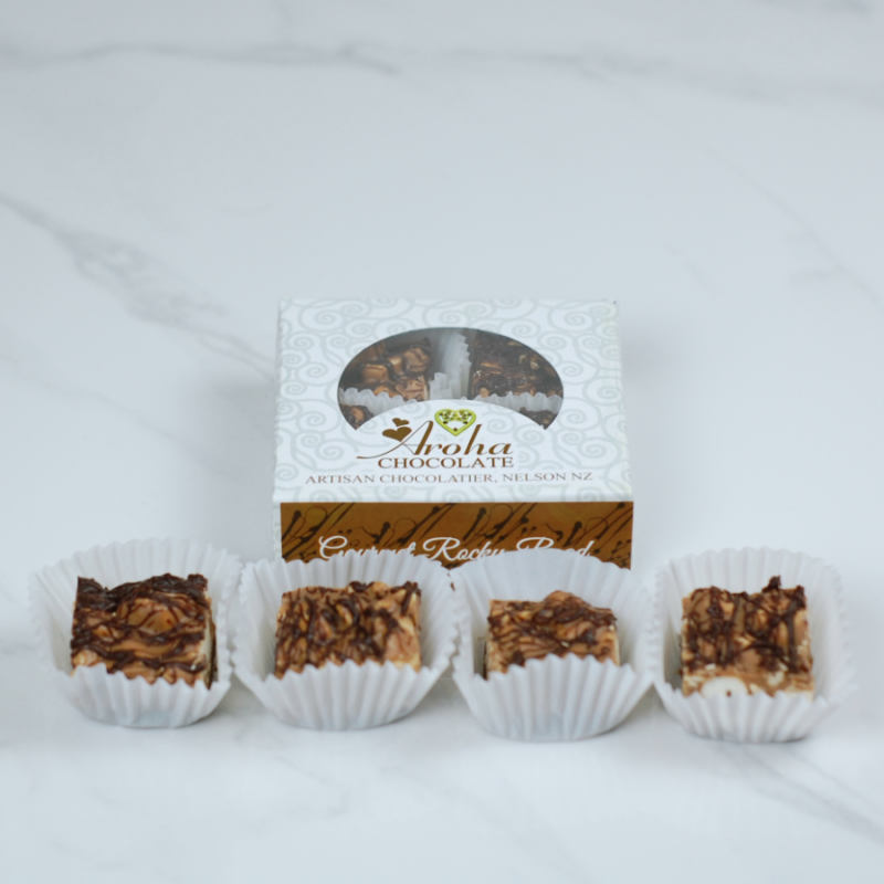 Aroha Chocolate - Gourmet Rocky Road Short Box