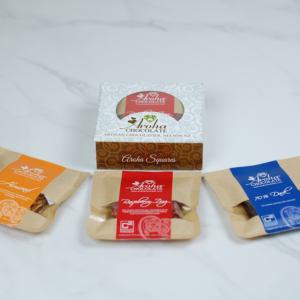 Aroha Chocolate - Mixed Chocolate Squares Short Box